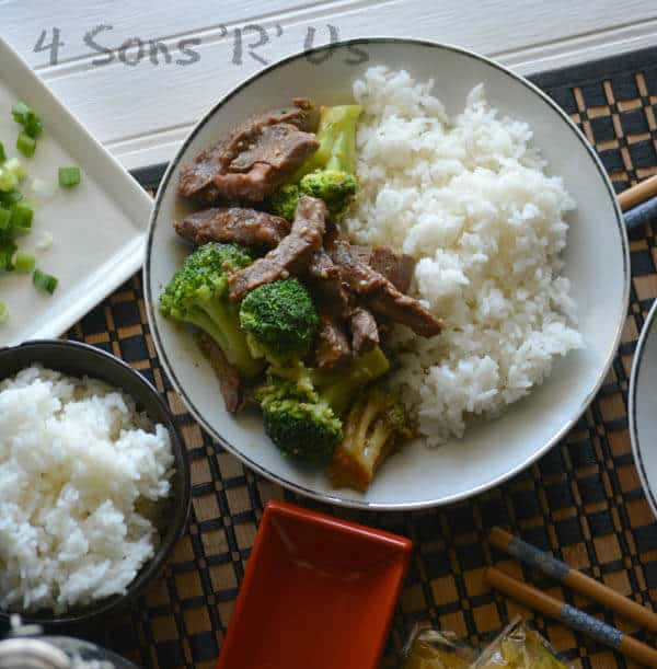 Beef and Broccoli Slow Cooker