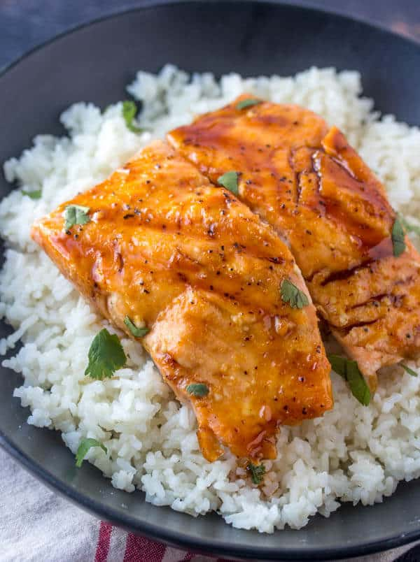Applebee's Honey Grilled Salmon