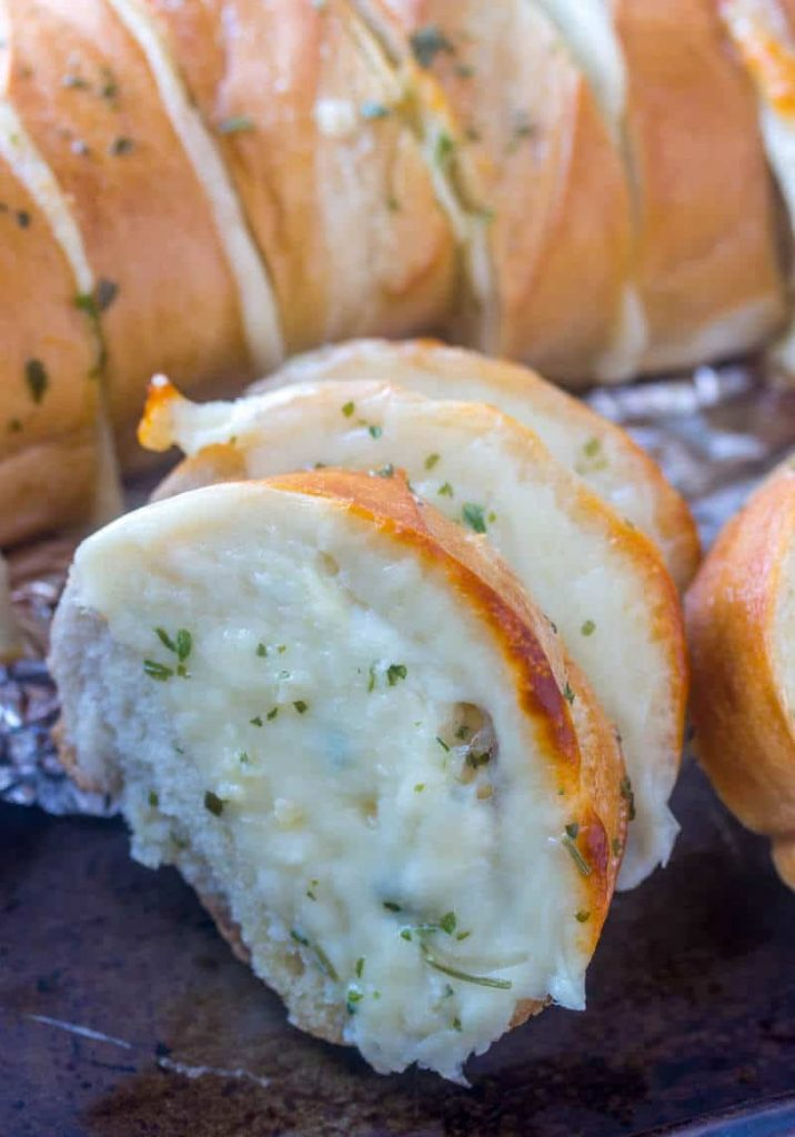 Garlic Bread Pull Apart