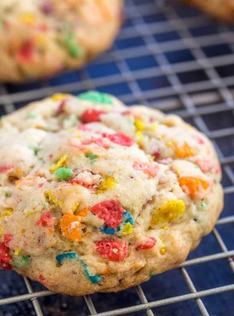 Fruity Pebble Cookie Recipe