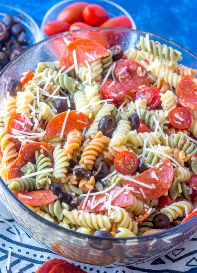 Italian Pasta Salad The Perfect Springtime Pasta Salad Recipe