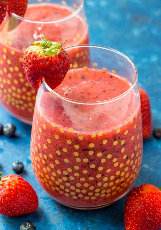 Frozen Fruit Slushies