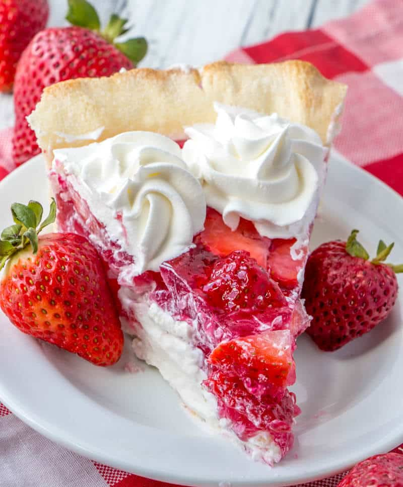 Easy Strawberry Cream Cheese Pie Recipe