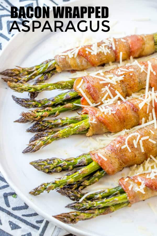Easy Bacon Wrapped Asparagus
