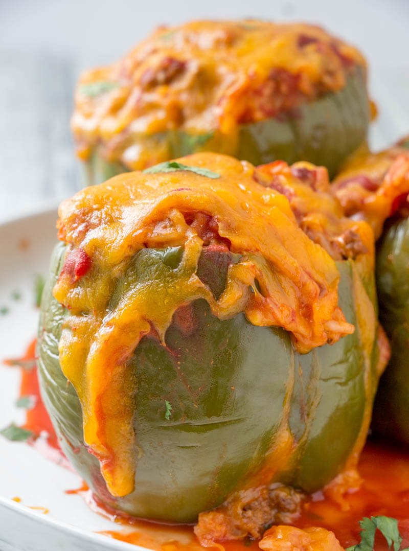 Stuffed Green Pepper Recipe
