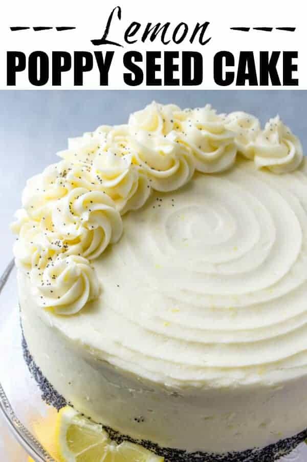 Lemon Poppy Seed Cake Recipe Using Cake Mix