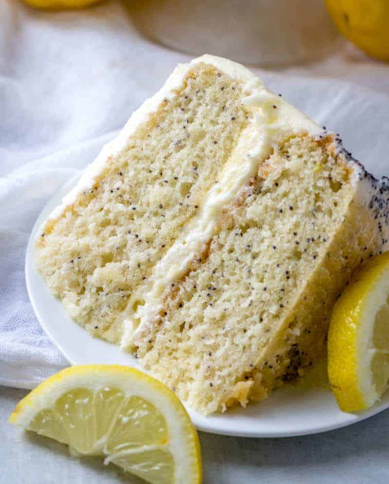 Best Lemon Poppy Seed Cake