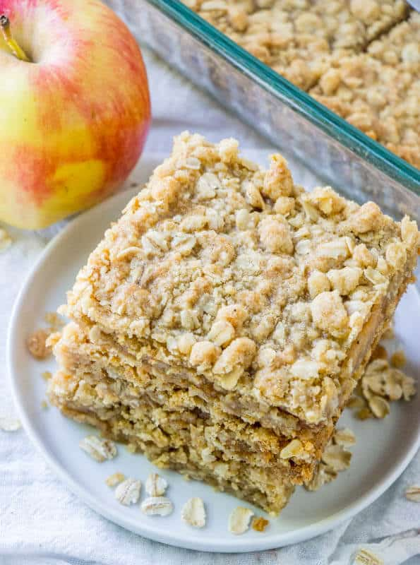 Homemade Oatmeal Bars