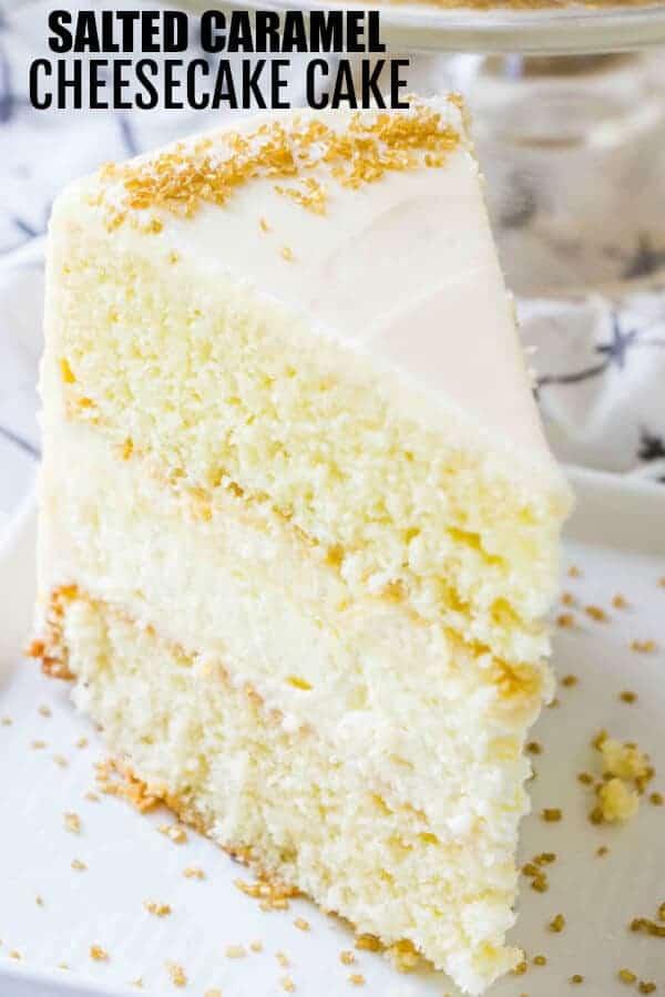 Caramel Cheesecake Cake