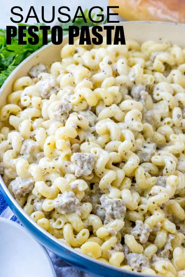 how to make pesto pasta easy