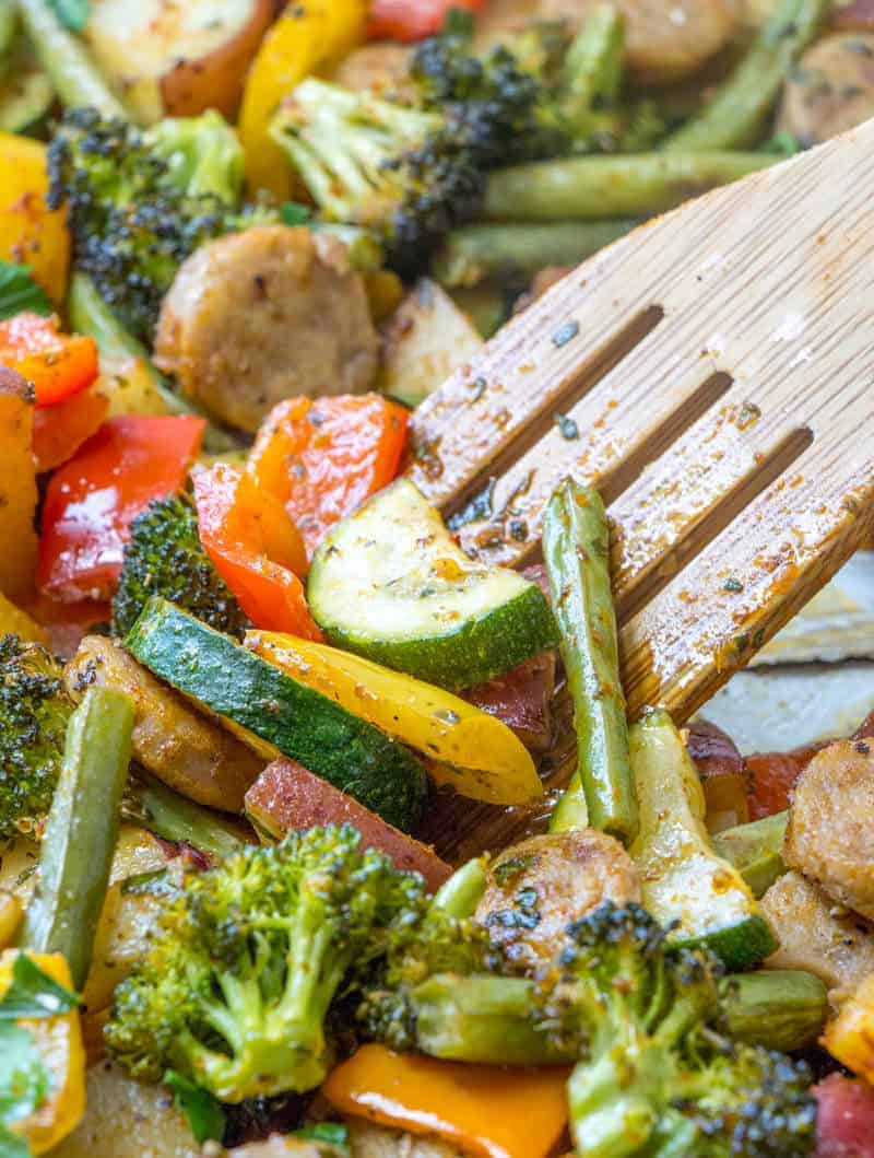 One Sheet Pan Dinners