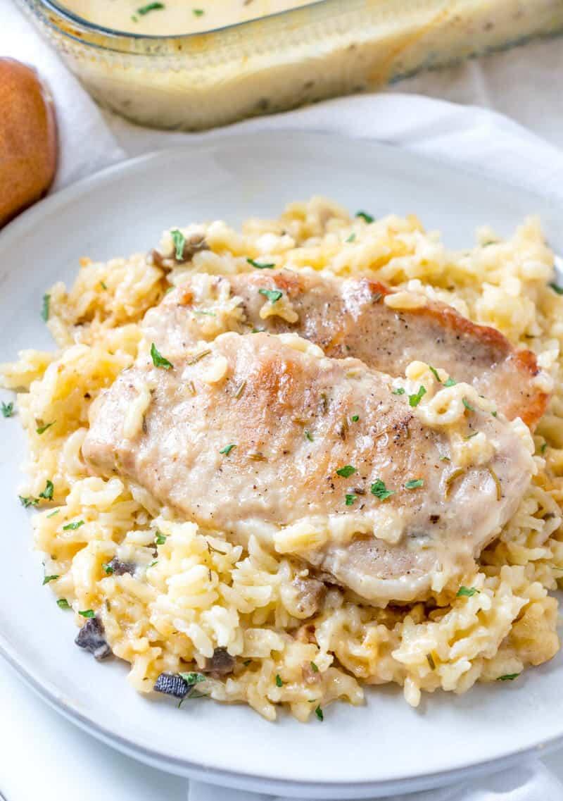 Baked Pork Chops Rice Tornadough Alli