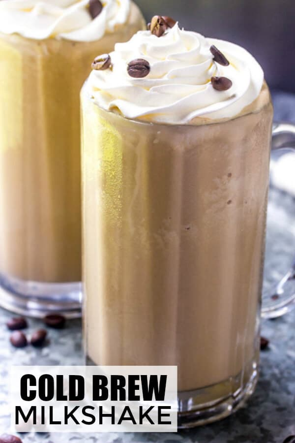 Cold Brew Coffee Milkshake