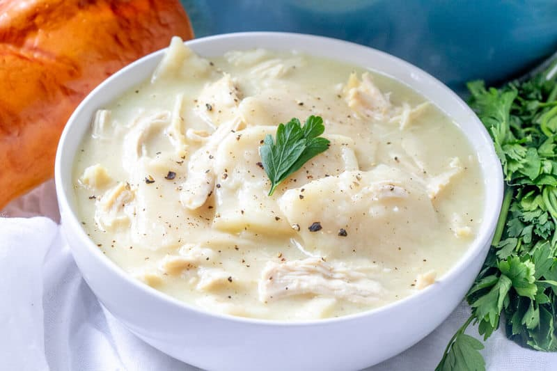 How to make homemade chicken and dumplings