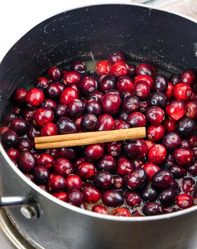 Cranberry Sauce Homemade