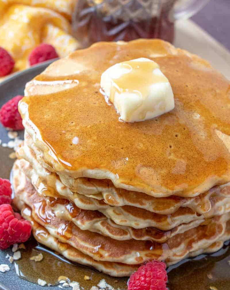 Best Oatmeal Pancakes