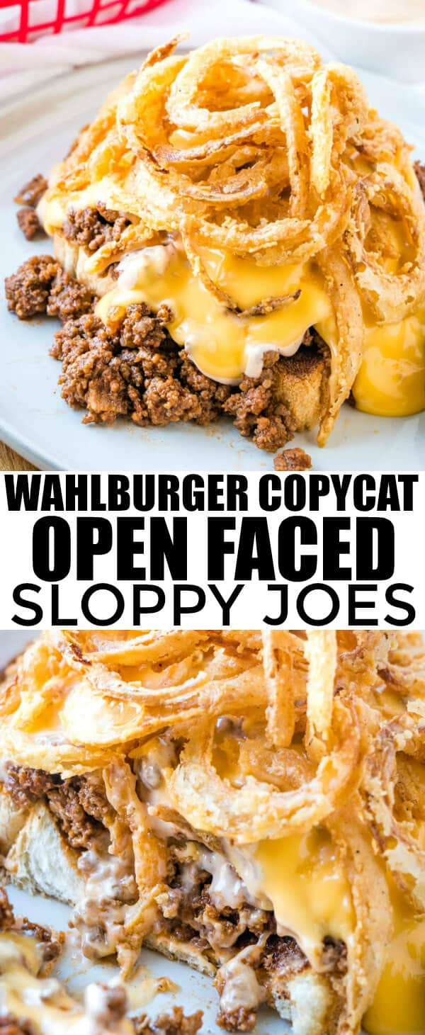 Want a fun and filling recipe, these Open Faced Sloppy Joes are full of flavor and super filling. Kids and adults alike adore them!