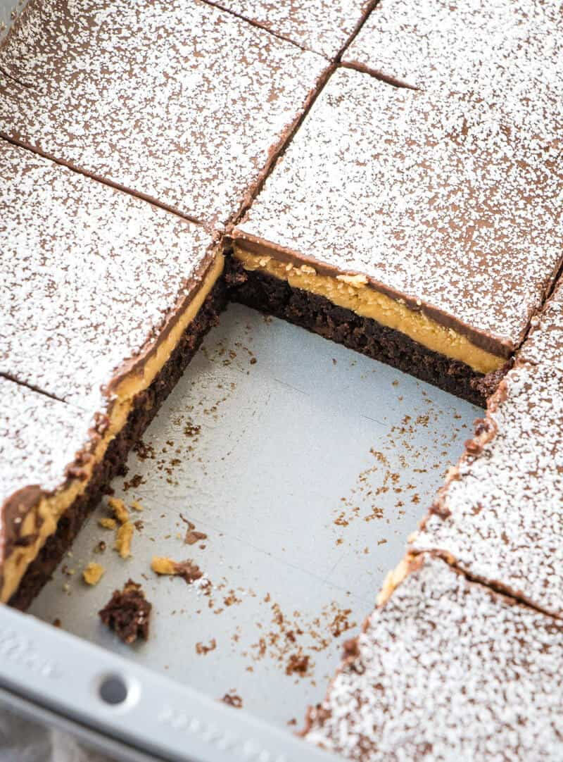 Peanut Butter Brownie Recipe