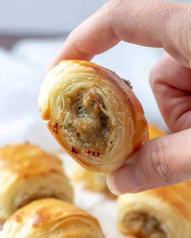 Easy Sausage Rolls