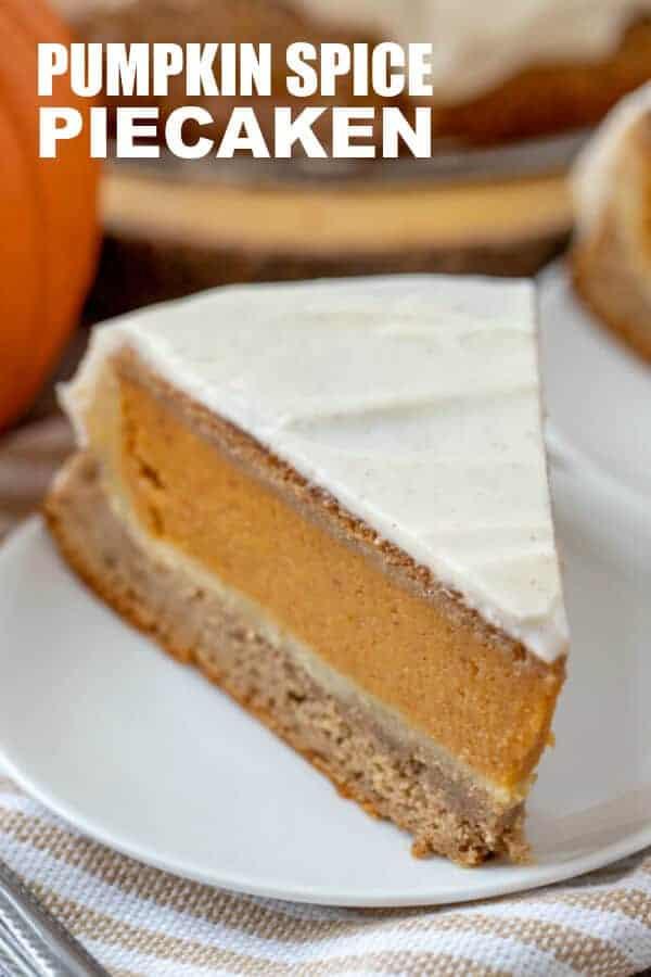 Pumpkin Spice Piecaken