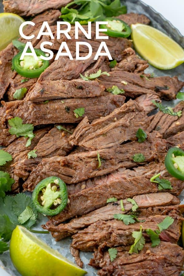 Carne Asada pinterest image