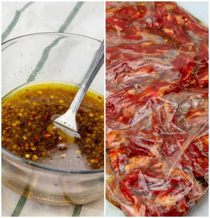 Beef satay marinade