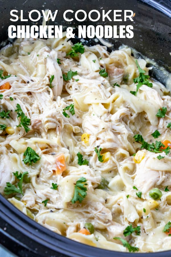 CHICKEN AND NOODLES PINTEREST IMAGE