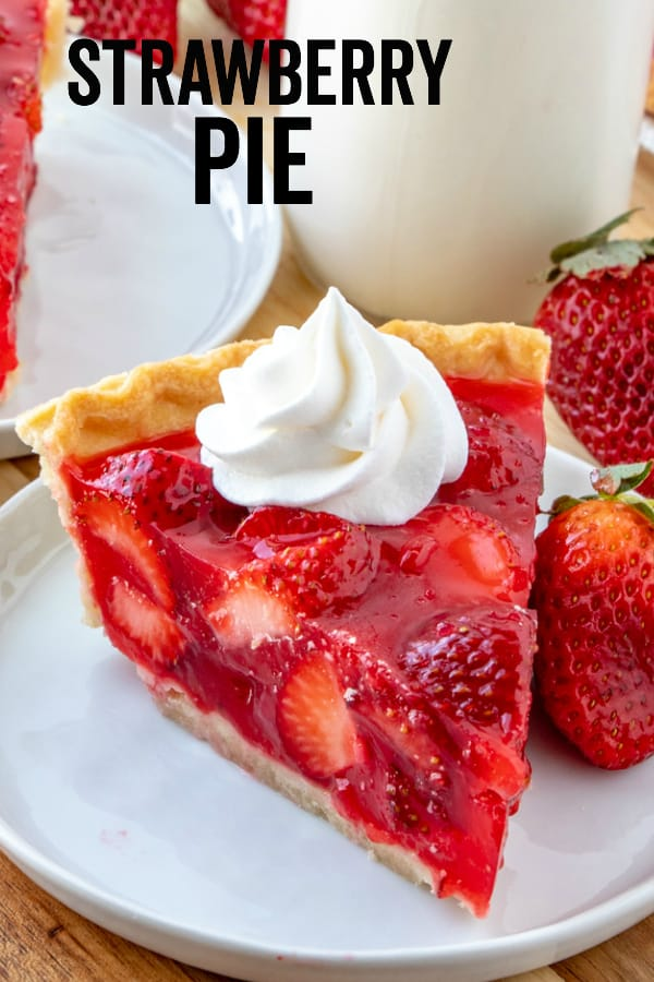 Strawberry Pie Pinterest Image