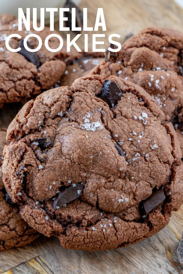 Nutella Cookies Pinterest Image