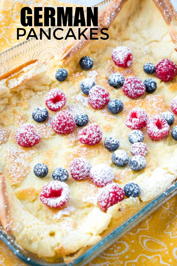 German Pancakes Pinterest Image