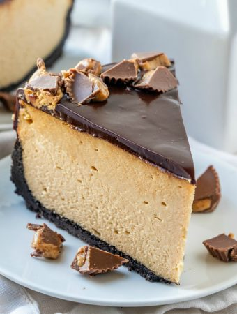 Peanut Butter Cheesecake Square Featured Image
