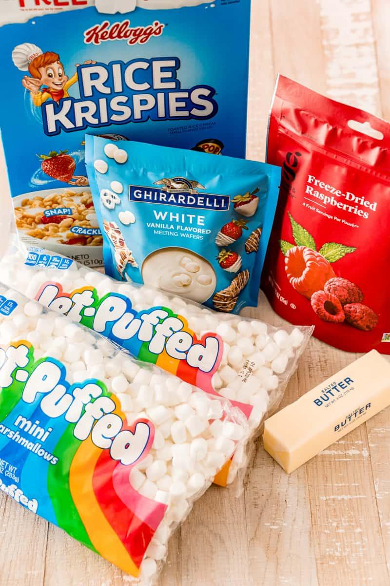 Ingredient needed to make Rice Krispie Treats