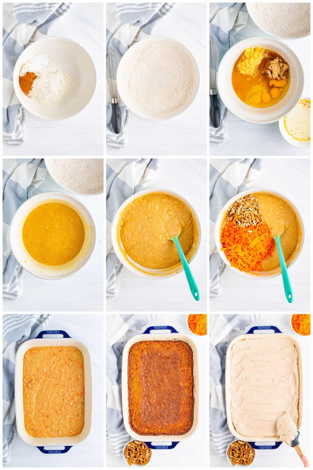 Step by step photos on how to make The Best Carrot Cake