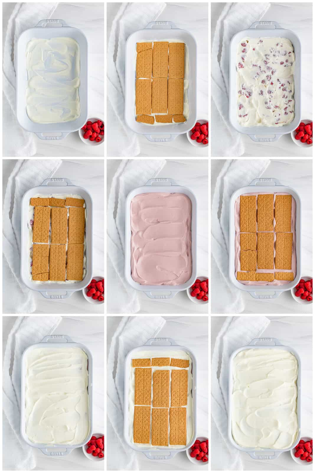 Hot to assemble an Icebox Cake